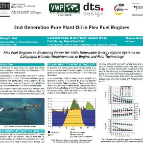 2nd Generation Pure Plant Oil in Flex Fuel Engines