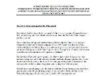Bundestagsanhörung 2006, Schriftliche Stellungnahme VWP